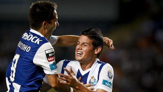 James Rodríguez y Joao Moutinho, fichados por el Mónaco a cambio de 70 millones de euros
