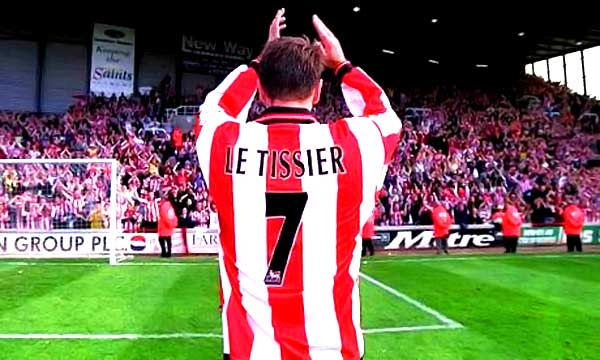 Le Tissier, the legend, best player in Southamton history.