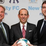 New York City born, Manchester City franchise in MLS