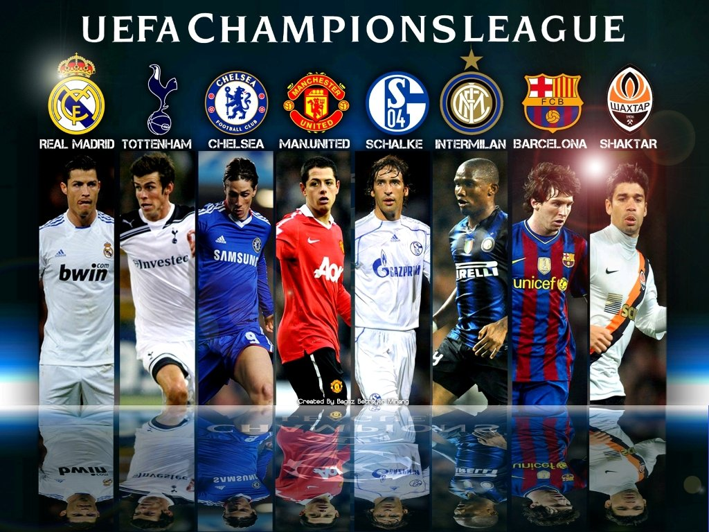 What teams will play the Champions 2013-14?
