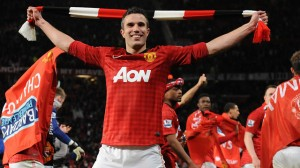 Robbie Van Persie is the top scorer in the English Premier League