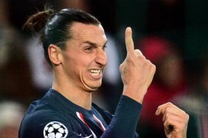 Zlatan Ibrahimovic con 30 goals is the scorer of Ligue 1 French