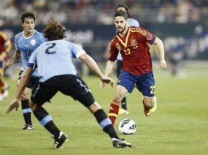 Isco has already debuted with the absolute and is one of the best players of the moment