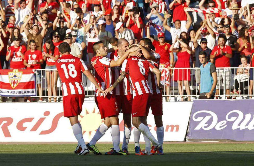 El Almería ha sido muy superior en la final de la Liga BBVA