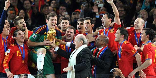 Spain, the golden generation of Spanish football