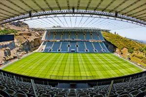 Braga tiene uno de los estadios más peculiares de Europa.