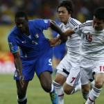 Italia 4 Japón 3: Italia gana un partido que fue una  fiesta del fútbol