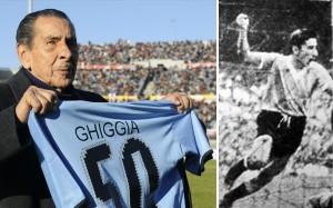 Alcides Ghiggia, el hombre que marcó el gol del Maracanazo