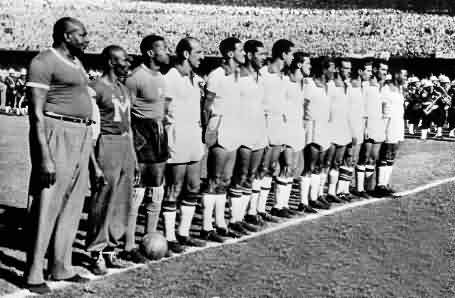 Adamir was the top scorer in a World Cup that Brazil played white.