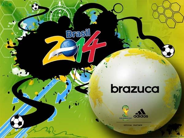 Brazuca será el nombre del balón del Mundial de Brasil 2014.