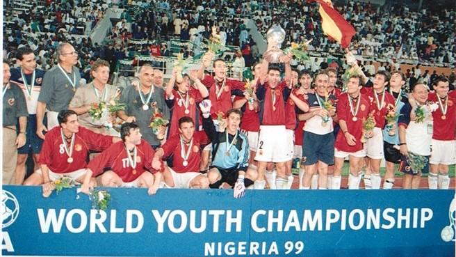 Generation Casillas and Xavi was world champion in Nigeria 1999