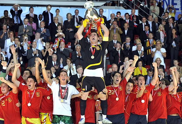 The European Championship 2008 It was the beginning of success for Spanish football