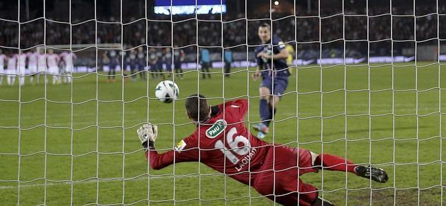 Ibrahimovic ist der beste Werfer in der Welt Strafe.