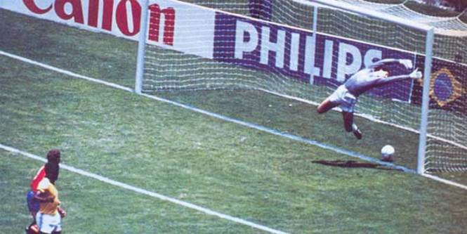 Michel's ghost goal in the World Cup 86 that they did not accept.