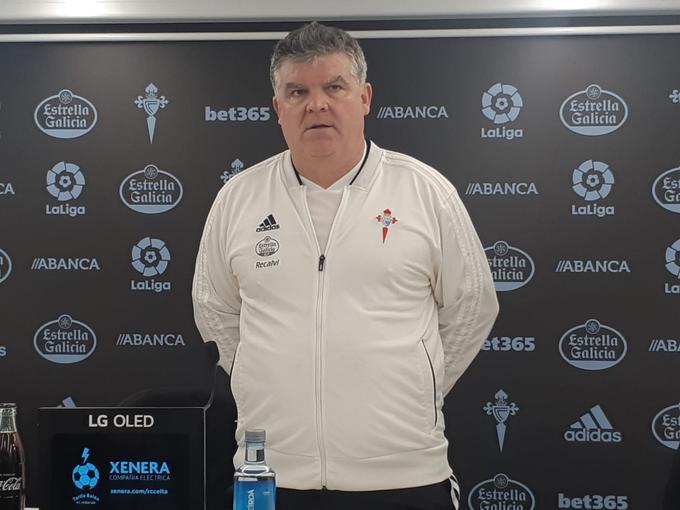 Onésimo entrenador del Celta B