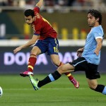 Best Spain beats Uruguay 2-1 at the premiere at the Confederations Cup