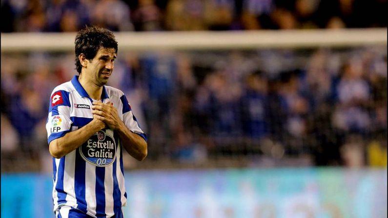Valerón anuncia su marcha del Deportivo tras 13 temporadas