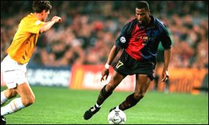 Wiston Bogarde was much discussed at the Camp Nou.