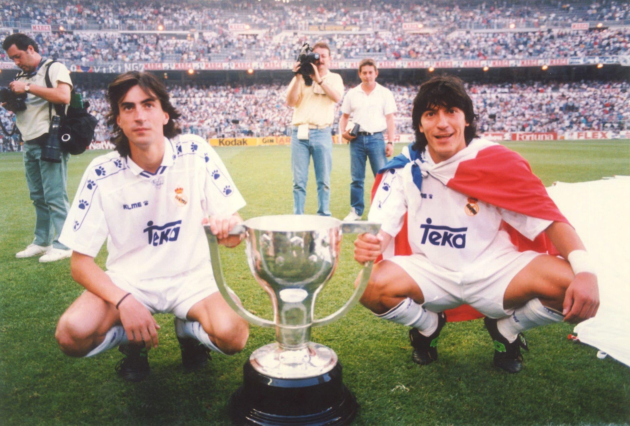 Iván Zamorano und Amavisca