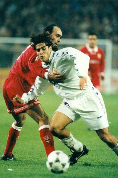 Alvaro Benito in a match against Sevilla