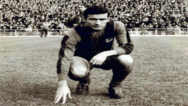 Antonio Calpe ganó muchos títulos con la zamarra del Madrid y es un mito del Levante.