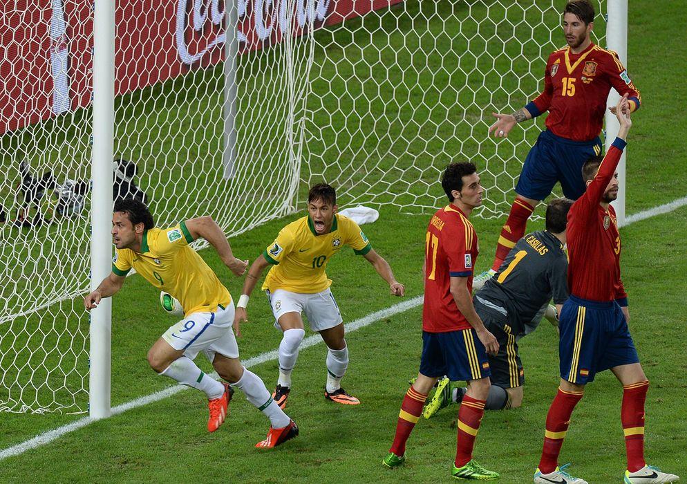 Brasil fue muy superior desde el primer minuto del partido