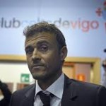 Celta Luis Enrique, a commitment to good football
