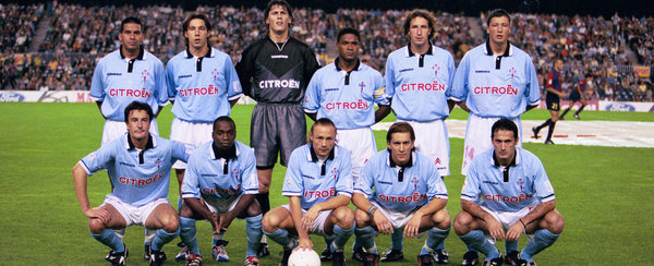 Celta de Vigo formed a historic team