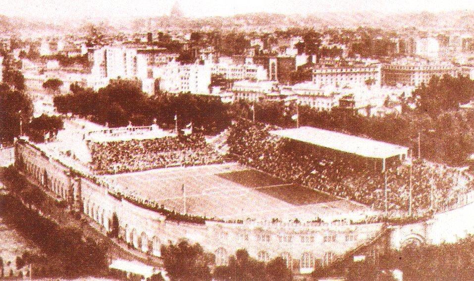 El estadio Nacional del partido nacional seria la sede de la final. Hoy es el Olímpico de Roma