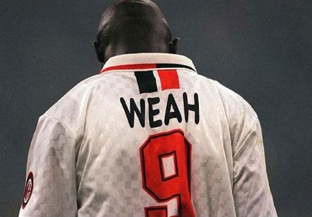 George Weah, el mejor delantero que ha dado Africa