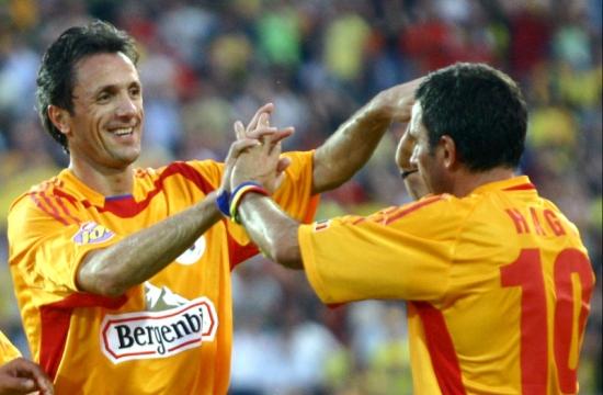 Hagi und Popescu, zwei rumänischen Legenden, beide Zigeuner
