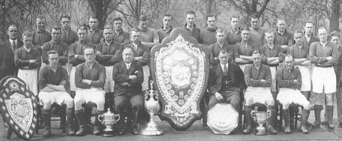 Herbert Chapman's Arsenal pioneered