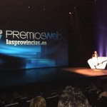 Colgadosporelfutbol.com was present at the awards ceremony of lasprovincias.es