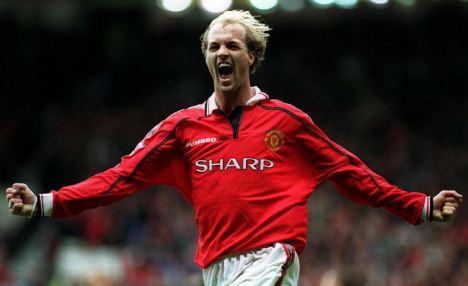 Jordi vistió la camiseta de otro grande como lo es el Manchester United