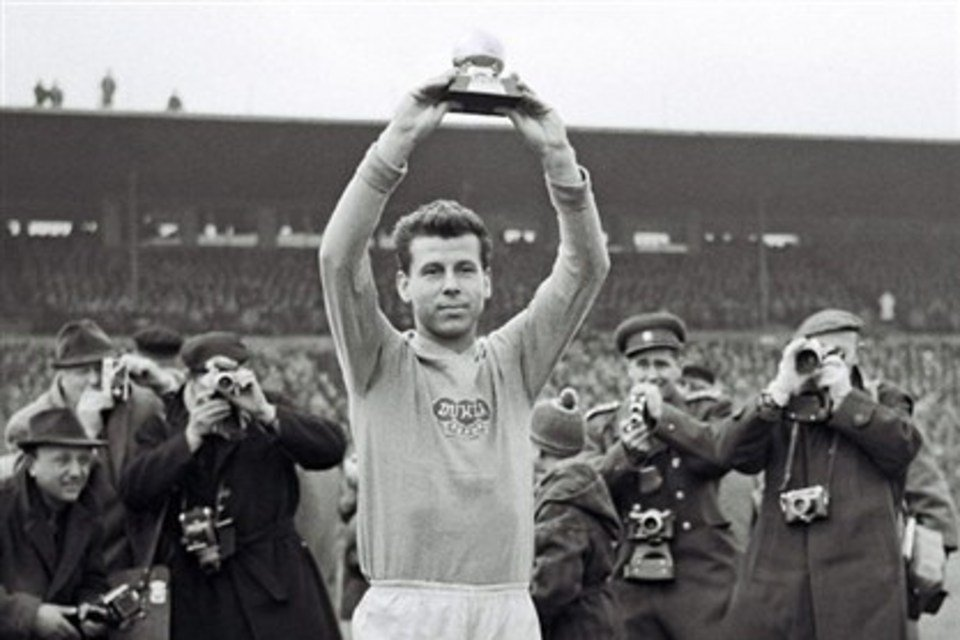Josef Masopust, the king of slalom and one of the best footballer of the decade of the 60