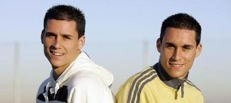 Los gemelos Callejón. Juanmi y José Antonio