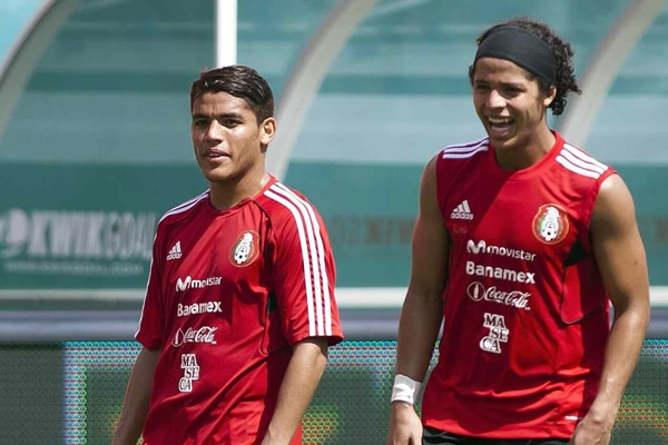 The Dos Santos brothers play in Spain