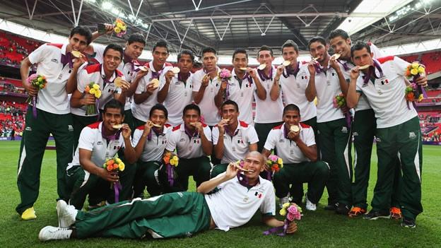 La selección mexicanade fútbol ganó la medalla de Oro de los JJOO de Londres 2012