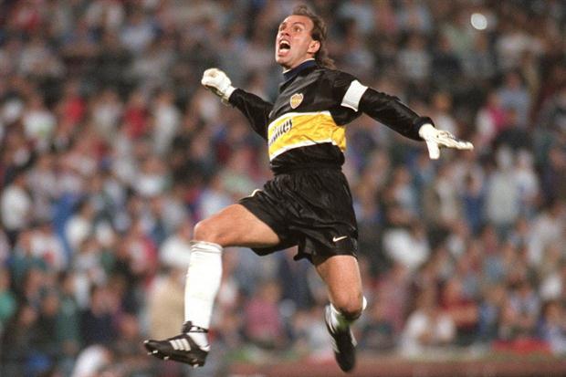 El Mono Navarro Montoya, un trotamundos del fútbol.