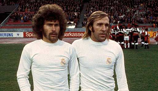 70's also marked an era in terms of the image of players. Melenas, sideburns and mustaches to power.
