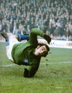 Shilton was Nottingham Forest goalkeeper who won two European Cups.