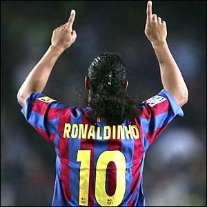Ronaldinho, un artista del balón