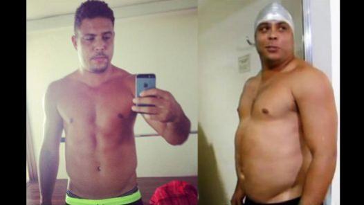 Ronaldo recuperó su figura gracias a un Reality de la tv brasileña