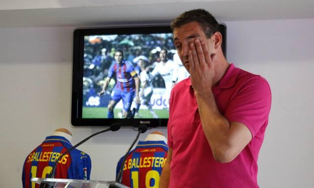 Sergio Ballesteros quizás deja el Levante por la puerta de detrás