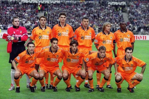 El Naranja fue muy utilizado por el Valencia.
