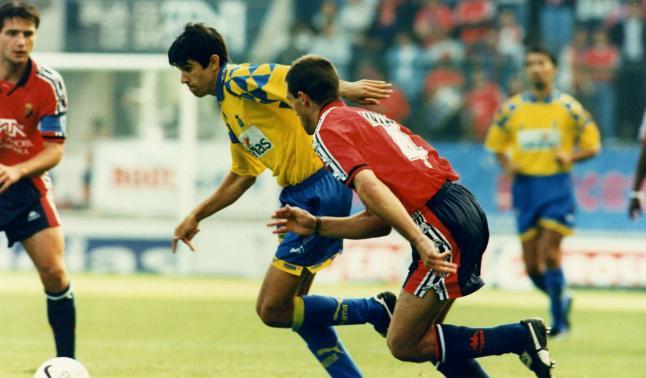 Valerón volverá a vestir la camiseta de Las Palmas dieciséis años después