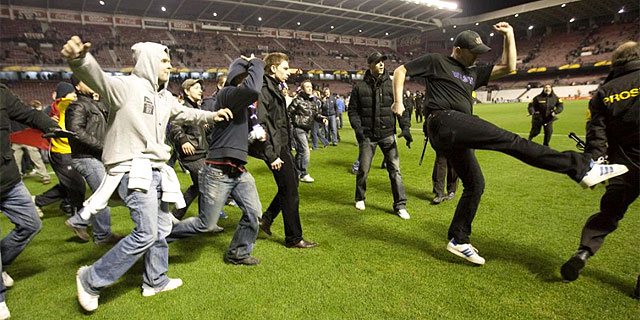¿Violence in stadiums?, no Please!