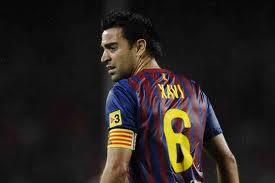 Xavi siempre fiel a la camiseta del Barcelona