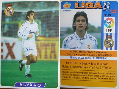 Álvaro played for Real Madrid and successfully