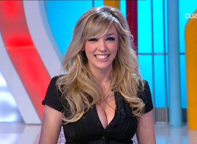 Anna Simón es la mujer más guapa de la televisión.